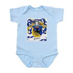 Huber Family Crest Infant Creeper