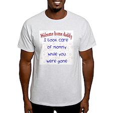 Took care of mom blue ver. T-Shirt