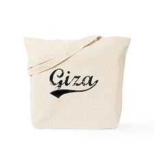 Vintage Giza (Black) Tote Bag