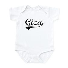 Vintage Giza (Black) Infant Bodysuit