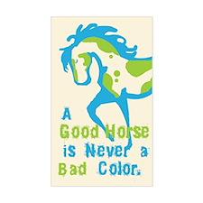 A Good Horse Rectangle Decal