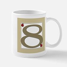 Number 8 Mug