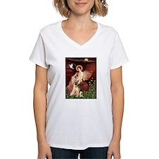 Seated Angel / German Shepherd Shirt