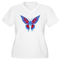 Vivid Butterfly T-Shirt