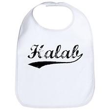 Vintage Halab (Black) Bib