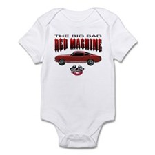 Mustang - The Big Bad Red Mac Infant Bodysuit