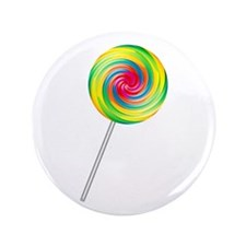 "Swirly Lollipop 3.5"" Button"
