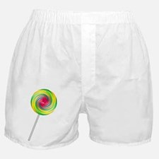 Swirly Lollipop Boxer Shorts