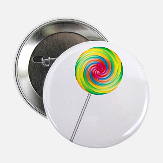 "Swirly Lollipop 2.25"" Button"