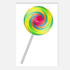 Swirly Lollipop Postcards (Package of 8)