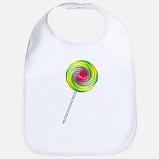 Swirly Lollipop Bib