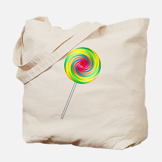 Swirly Lollipop Tote Bag
