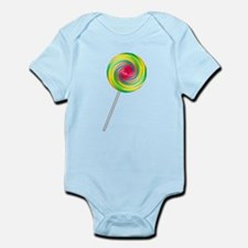 Swirly Lollipop Onesie
