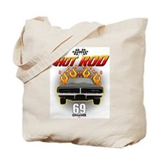 69 Charger - Hot Rod Tote Bag