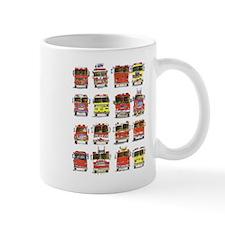 16 Firetrucks Small Mug