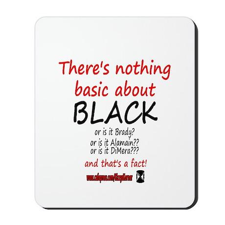 DOOL BASIC BLACK Mousepad
