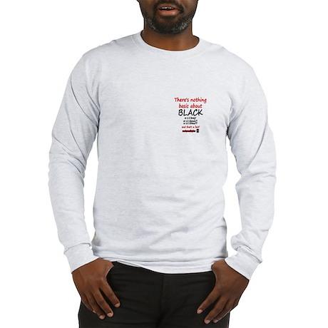 DOOL BASIC BLACK Long Sleeve T-Shirt
