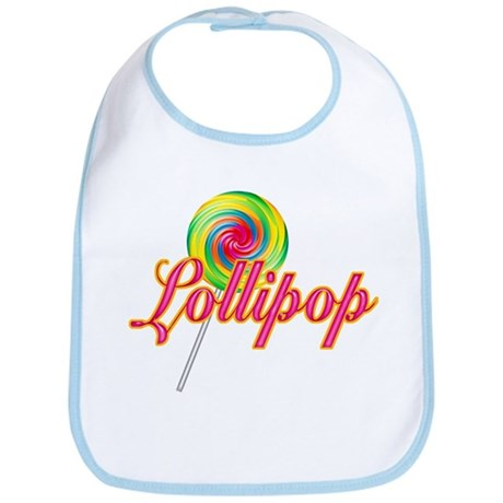 Text Lollipop Bib