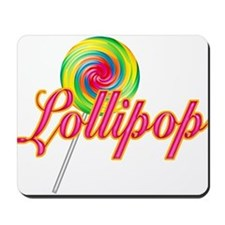 Text Lollipop Mousepad