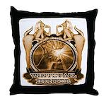 hunt naked Deer hunter gift t Throw Pillow