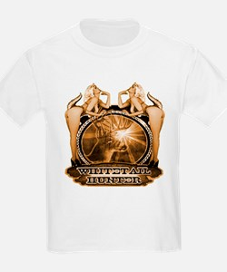 hunt naked Deer hunter gift t T-Shirt