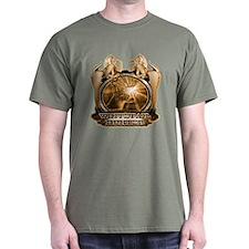 hunt naked Deer hunter gift t T-Shirt