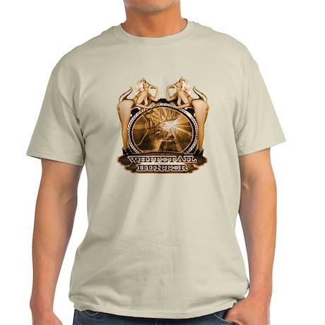 hunt naked Deer hunter gift t Light T-Shirt