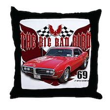 69 Firebird - The Big Bad Bir Throw Pillow