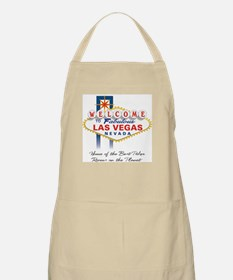 Welcome to Vegas Poker BBQ Apron