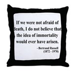 Bertrand Russell 5 Throw Pillow