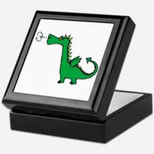 Cartoon Dragon Keepsake Box