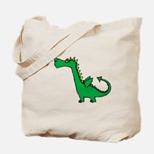 Cartoon Dragon Tote Bag