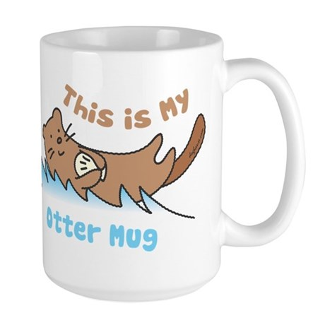 This Is My Otter Large Mug