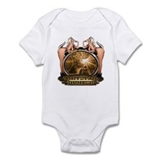 hunt naked Deer hunter gift t Infant Bodysuit