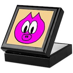 Pig Head Keepsake Box