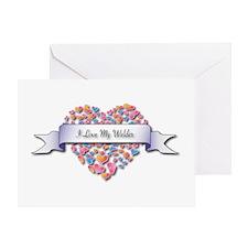 Love My Welder Greeting Card
