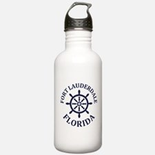 Summer fort lauderdale Water Bottle