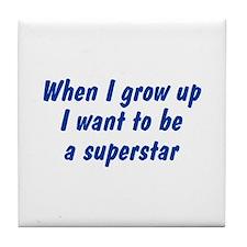 WIGU Superstar Tile Coaster