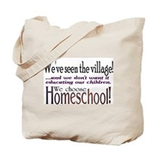 Cute Homeschooling Tote Bag