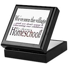 Cute Homeschooling Keepsake Box