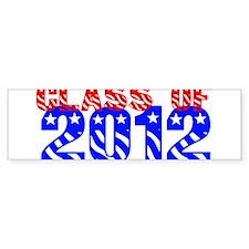 Class of 2012 USA Bumper Bumper Sticker