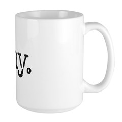 simply stated: funny. Large Mug