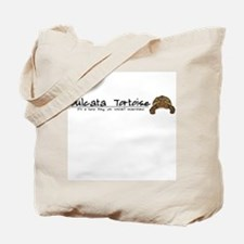 Herp Thing Sulcata Tortoise Tote Bag