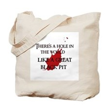 """A hole in the world"" Tote Bag"
