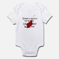 """""""A hole in the world"""" Infant Bodysuit"""
