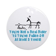 Real Equestrian Ornament (Round)