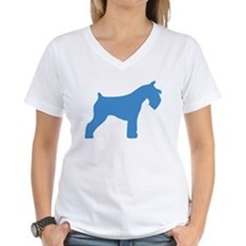 blue mini schnauzer Shirt