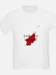 """""""Bleeders"""" T-Shirt"""