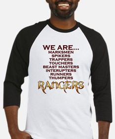 We are Rangers Baseball Jersey