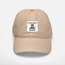 KARAOKE KING Baseball Baseball Cap